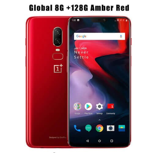 One Plus 6 128GB Amber Red