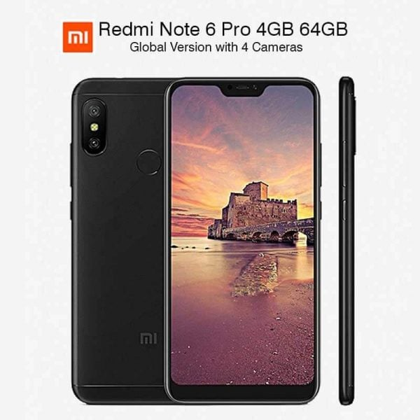 Global Version Xiaomi Redmi Note 6 Pro