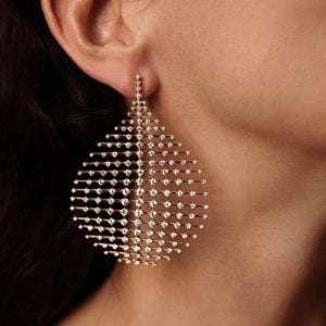 Chandelier Earrings Geometric Drop Crystal Jewellery