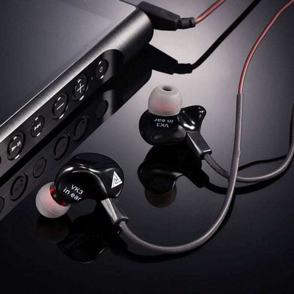 QKZ VK3 Special Edition Metal Heavy 3.5mm Game Earphone