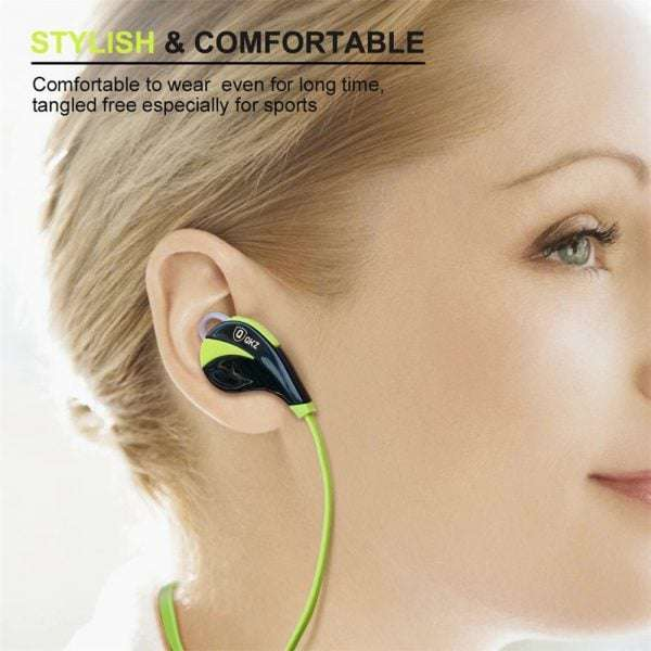 Bluetooth QKZ G6 Sports Wireless 4.0 Stereo Bass Earphone