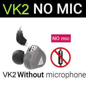 QKZ VK 2 2DD Hybrid Technology with DJ Beats Earphone