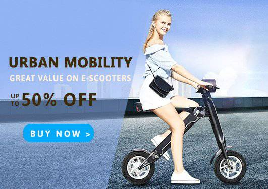 Electric Scooter Sale in Europe